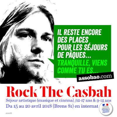 Colos musique et cinéma Rock The Casbah de Pâques