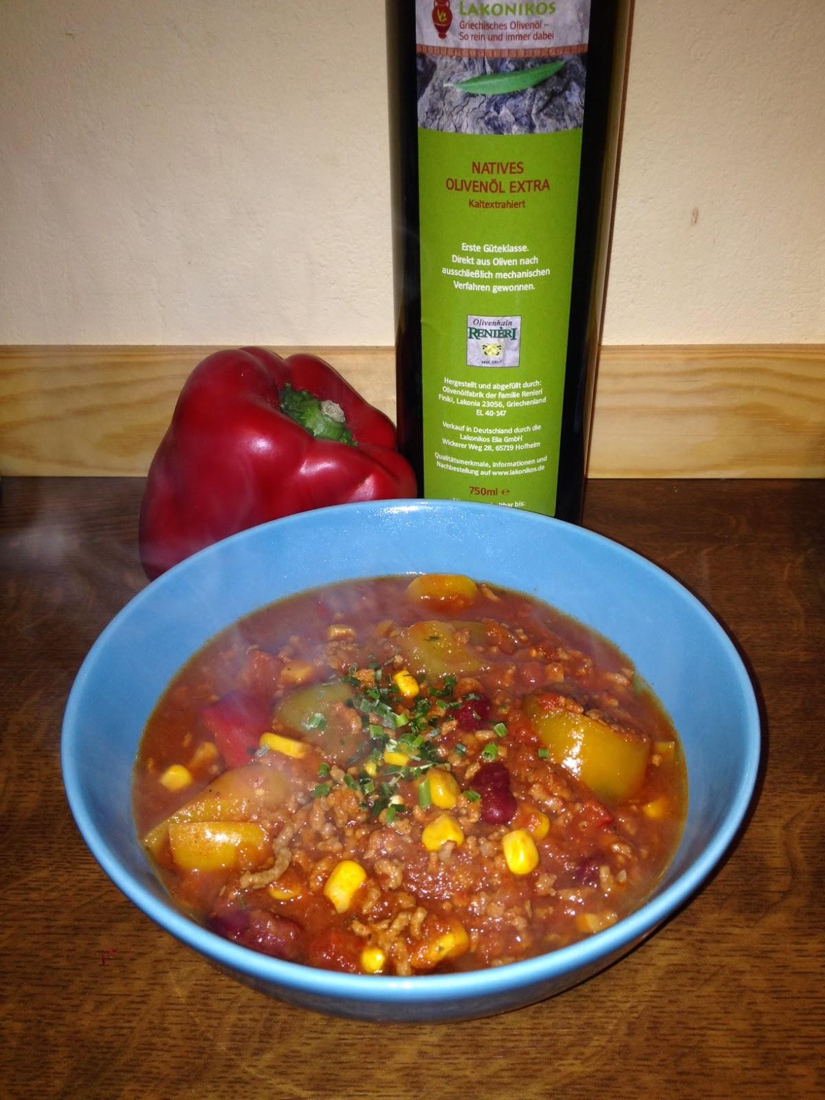 rezept chili con carne lisa s produkttest welt. Black Bedroom Furniture Sets. Home Design Ideas