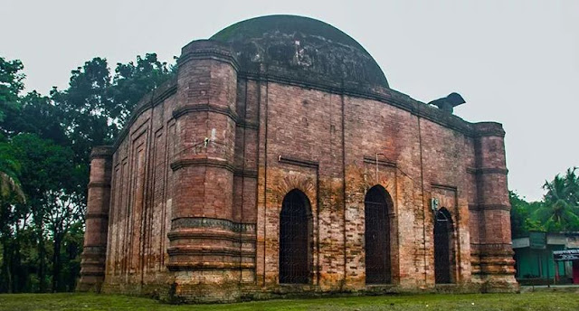 Jorbangla Muslim Mosque Jhenaidha Bangladesh