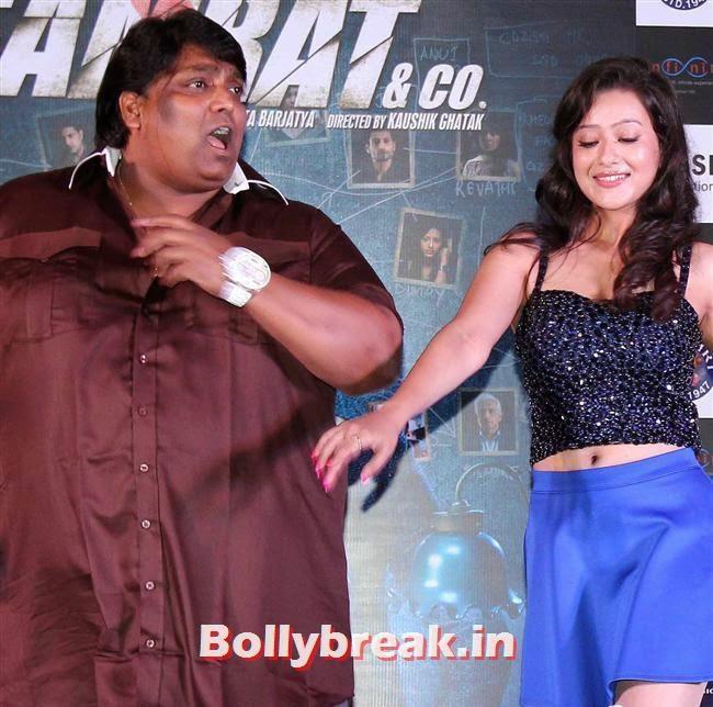 Ganesh Acharya and Madalasa Sharma, Madalasa Sharma sizzles at Samrat and Co Music Launch
