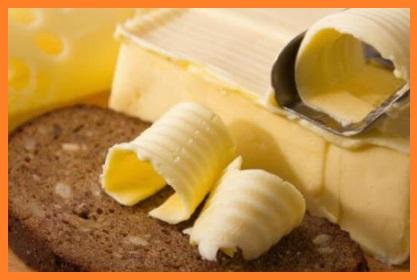 grasas saturadas mantequilla