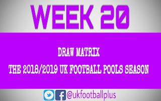 WEEK 20: UK FOOTBALL POOLS | 24-11-2018 | www.ukfootballplus.com.ng