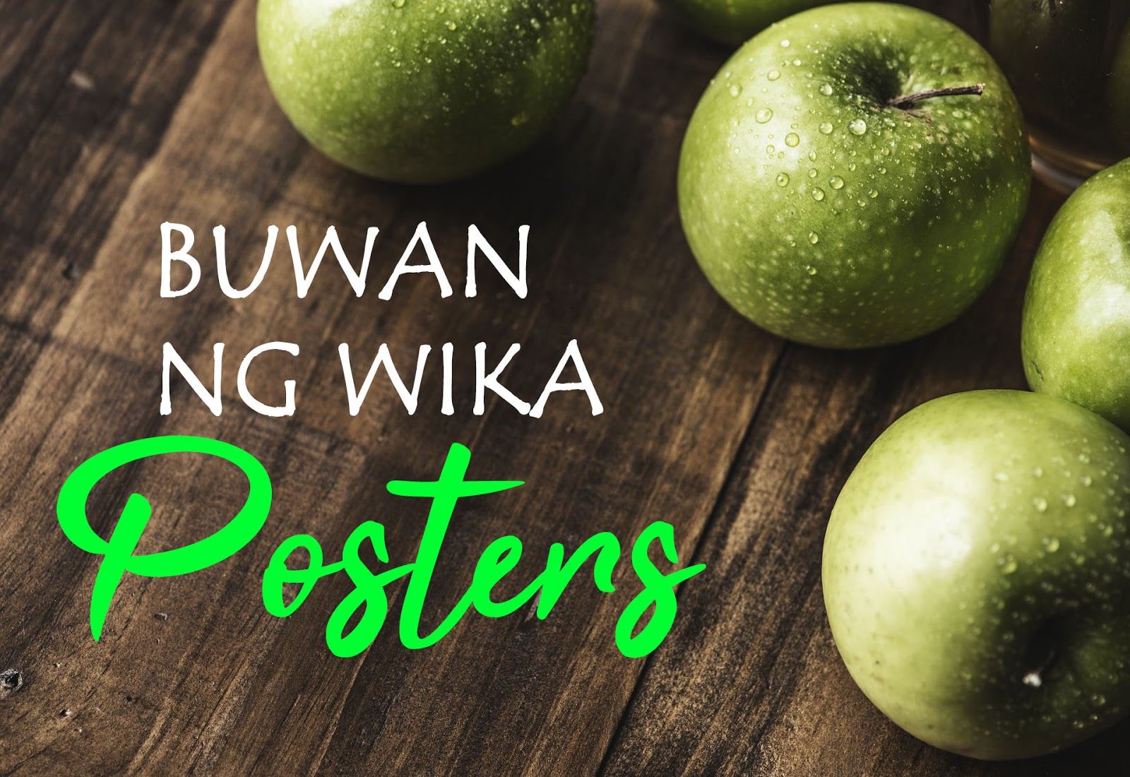 buwan ng wika  wika ng saliksik posters 2018