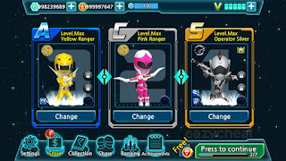 Download Power Rangers Dash Apk Mod Terbaru