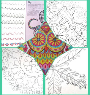 Nature Mandelas Coloring Book samples