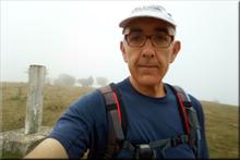 Alto de la Lobera mendiaren gailurra 841 m. - 2017ko uztailaren 21ean