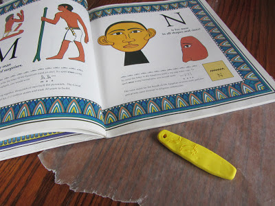 Egyptian Unit:  Make a Cartouche-The Unlikely Homeschool
