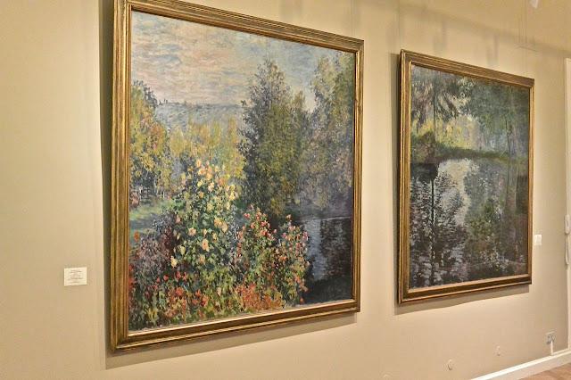 Claude Monet  : Saint Pétersbourg musée musée de l'Ermitage 2 Etat-Major en face du palais d'Hiver