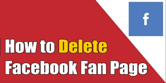 How Can I Delete A Page I Created On Facebook