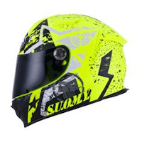 Suomy SR Sport Stars Yellow Fluo
