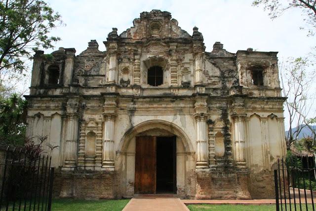 RUINAS IGLESIA DE SAN JOSÉ EL VIEJO - ANTIGUA GUATEMALA