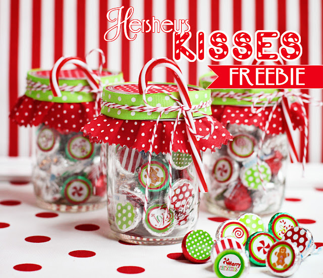 shindig+hershey+kiss+freebie2 - 30+ FREE Christmas Printables
