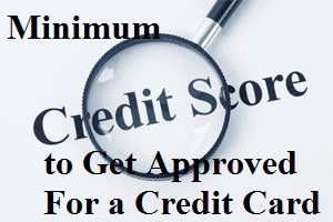 cibil score for credit card application