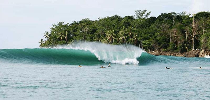 Lokasi Wisata Surfing Pantai Wafor Supiori Siap Diresmikan Dharapos Papua