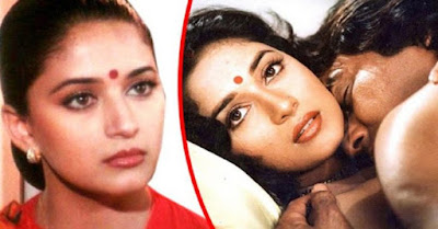 madhuri got angry on dyavan movie scene news