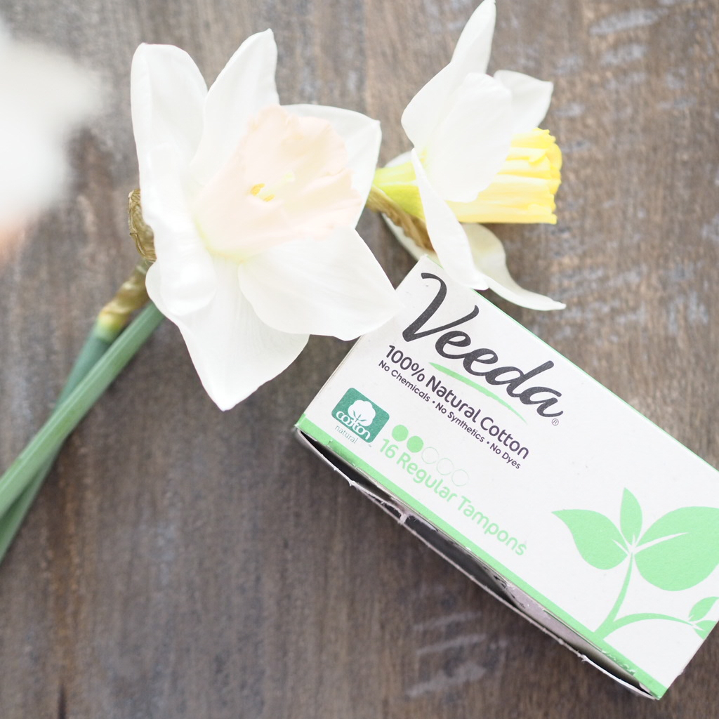 Veeda Natural Sanitary Products - Natural Cotton tampons
