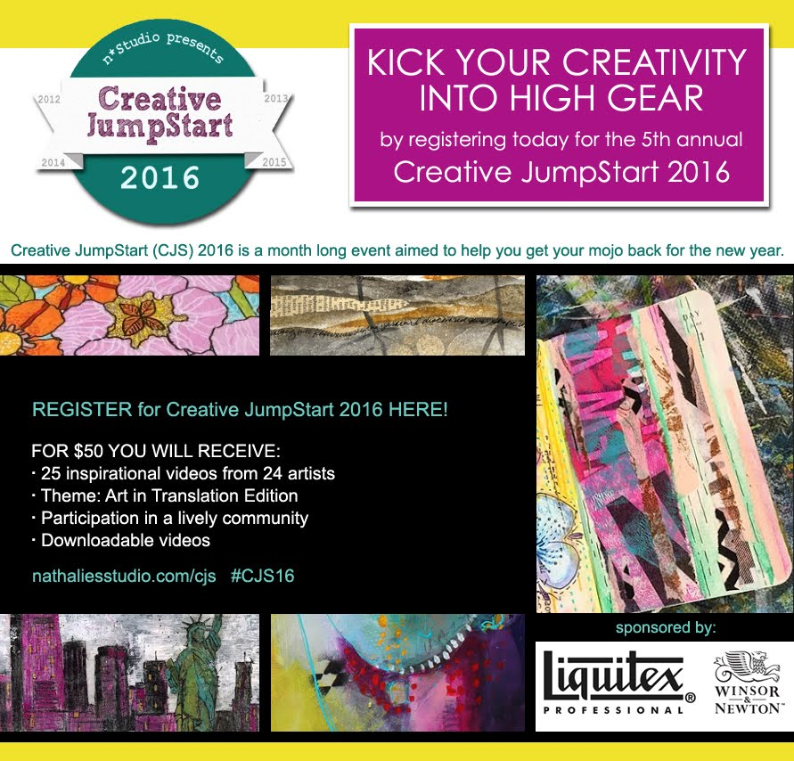 Check out Creative Jumpstarts 2016!
