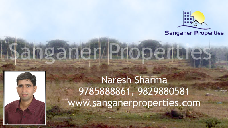 Commercial Plot For Sale At Shikarpura Road In Sanganer
