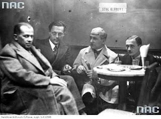 Wieniawa wśród poetów w cukierni 1931