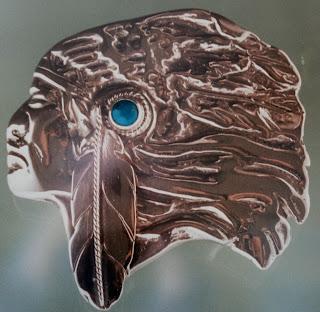 Sterling silver warrior head made by ZhaawanArt trouwringen