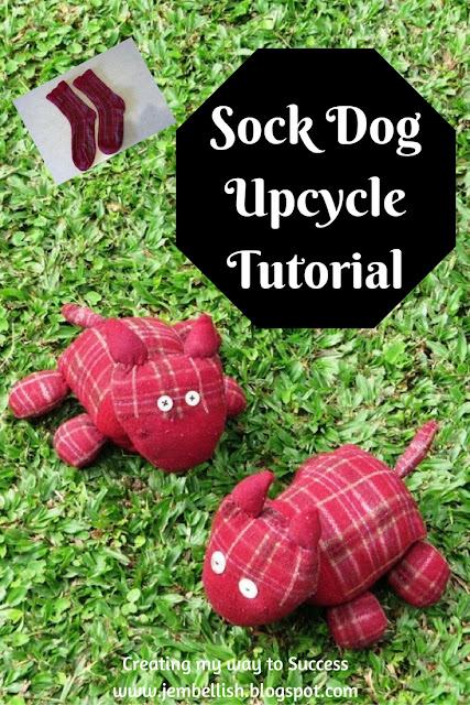 Sock Dog Upcycle