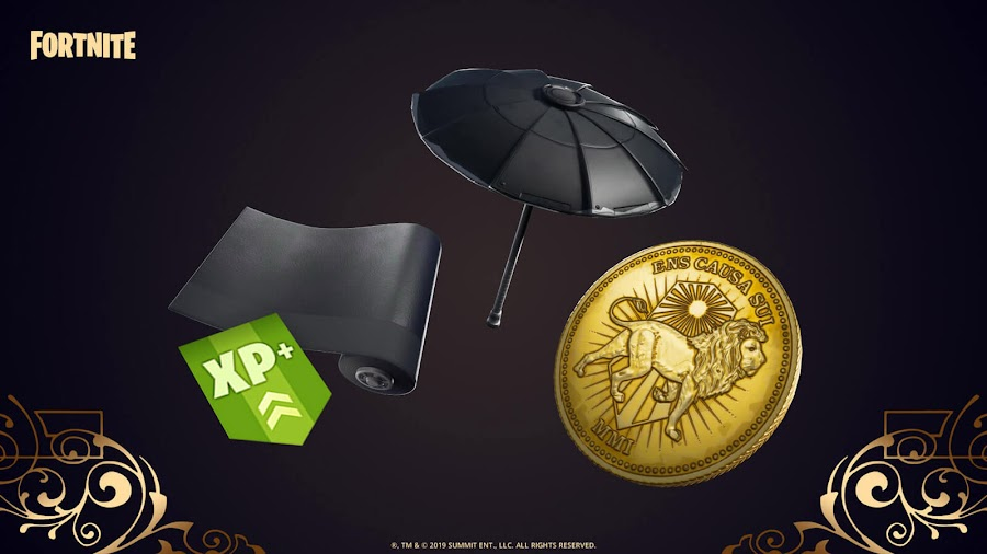 fortnite john wick crossover pc ps4 xbox one nintendo switch ltm skin mode tokens loot epic games