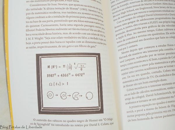 Resenha, livro, Os-segredos-matemáticos-dos-Simpsons, Simon-Singh, editora-record, opinião, capa, sinopse, fotos, matematica, simpsons