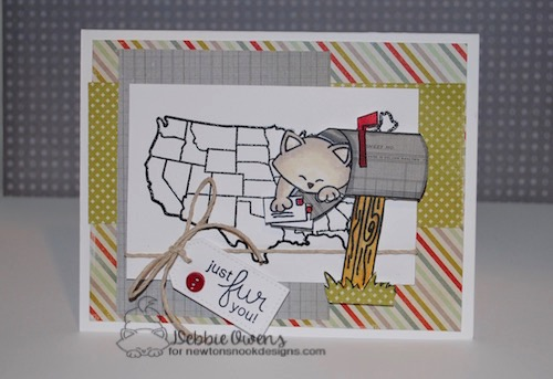 Just for you by Debbie featuring Newton's Happy Mail by Newton's Nook, #newtonsnook