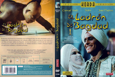 Cover, dvd, caratula: El Ladrón de Bagdad | 1940 | The Thief of Bagdad / Película online