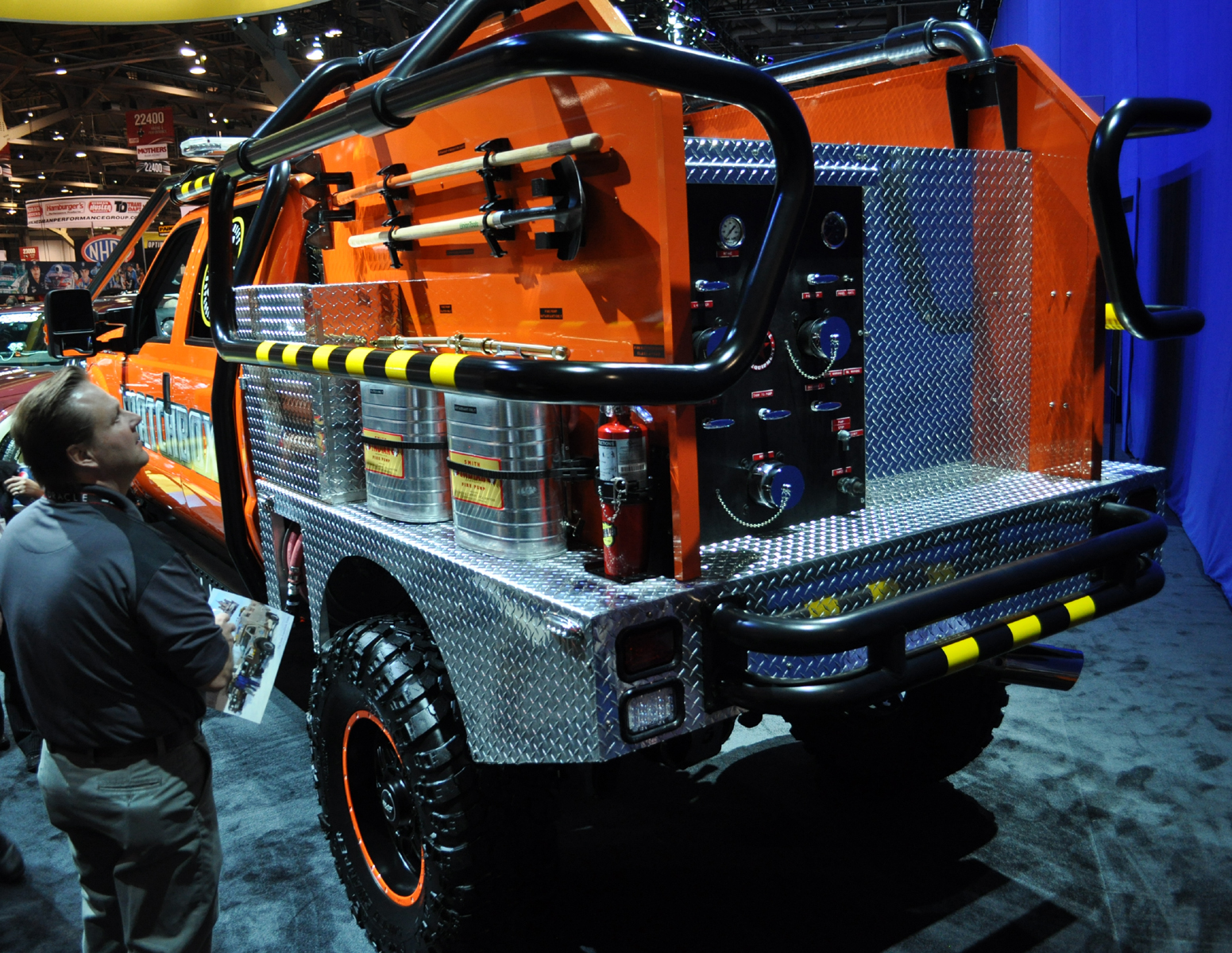 Just A Car Guy: The Full Size Matchbox Truck At SEMA, A