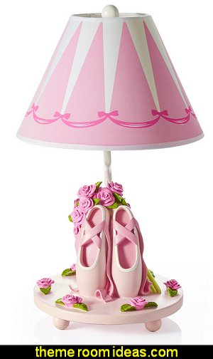 Ballet Bouquet Lamp with Empire Shade