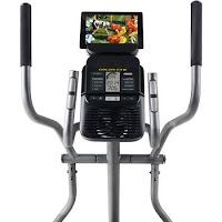 Gold Gym 450 console