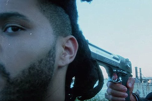 Bella Hadid in a new clip The Weeknd