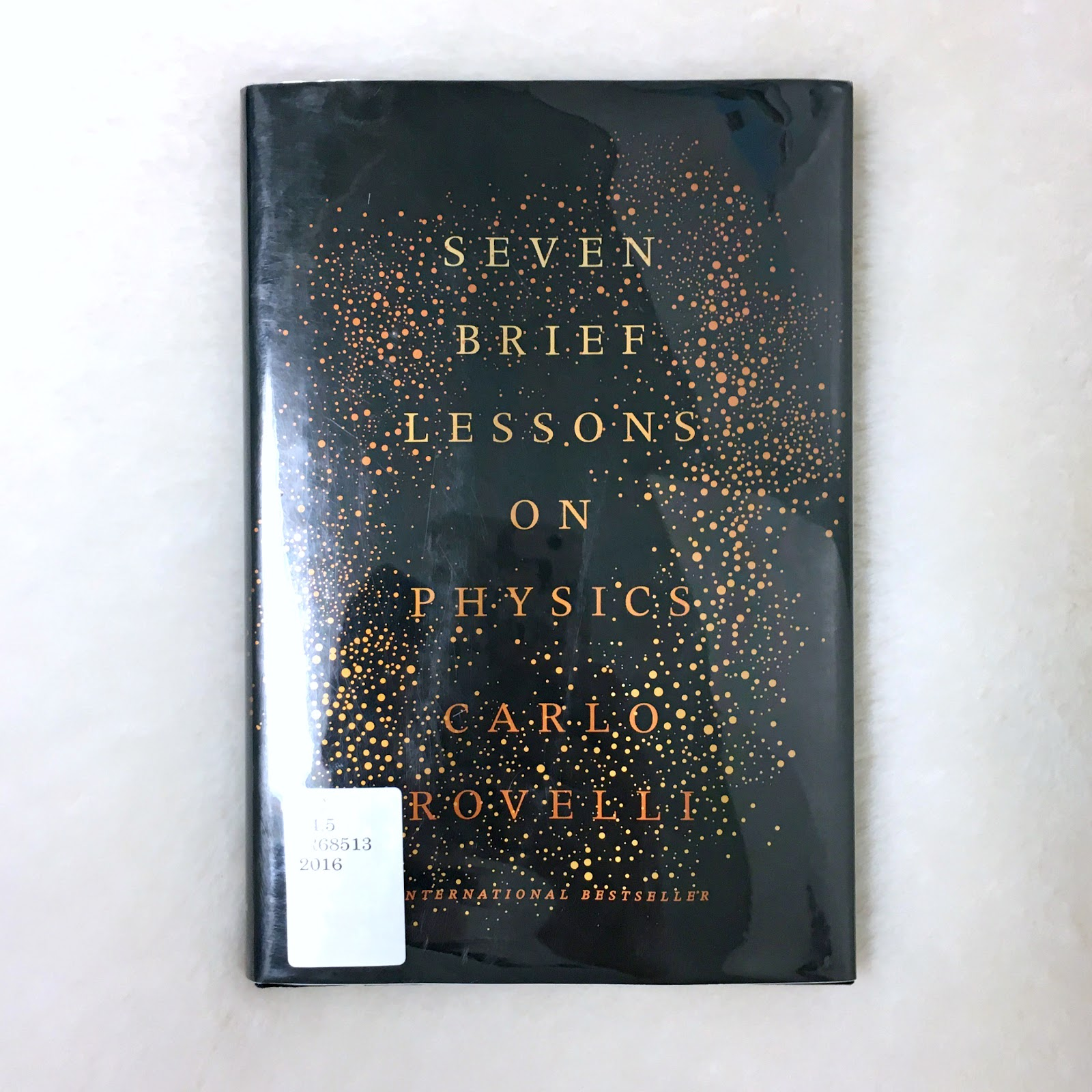Book Review: Seven Brief Lessons on Physics by Carlo Rovelli
