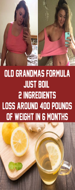 Old Grandmas Formula Just Boil 2 Ingredients & Drink This Before Bedtime and Loss Around 400 pounds of Weight In 6 Months