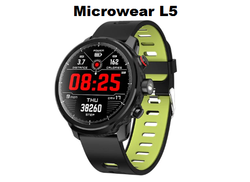 Microwear L5 SmartWatch Specs, Features and Price