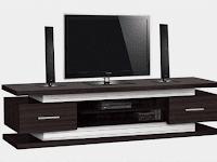 Model Lemari tv kayu minimalis Terbaik