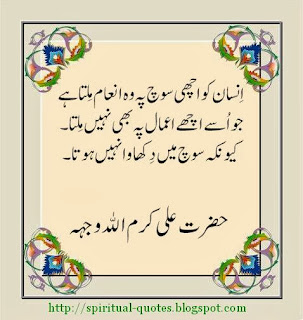 Ahl e Bait Quotes in Urdu