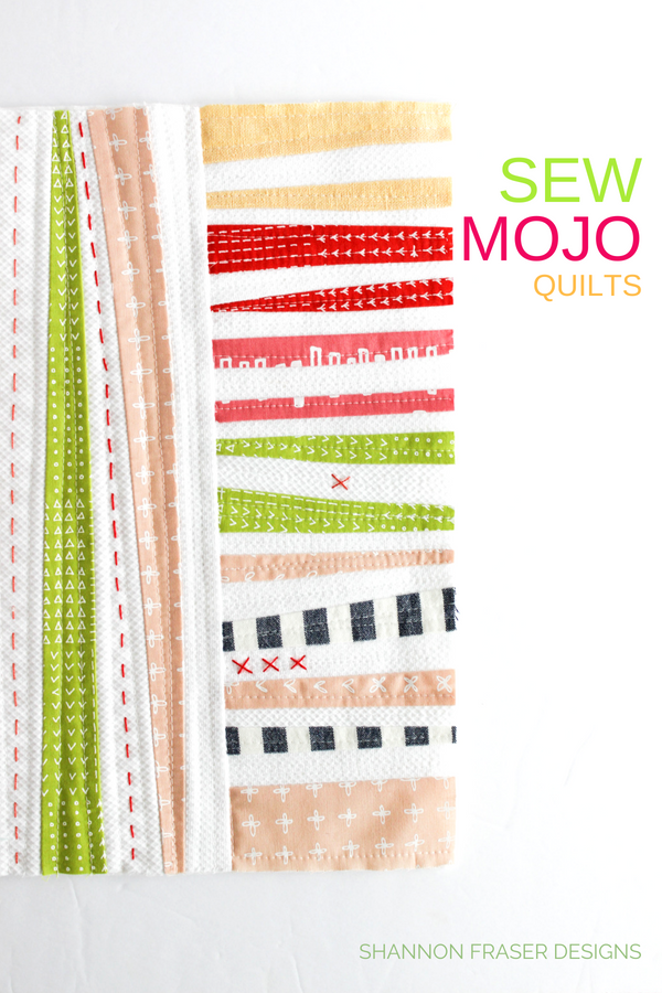 Sew Mojo Quilts | Q3 2018 Finish-A-long Proposed Projects | Shannon Fraser Designs