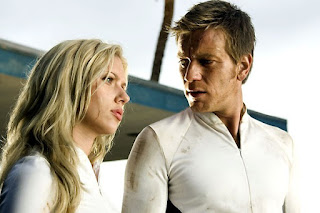 Scarlett Johansson et Ewan McGregor dans The Island, de Michael Bay (2004)