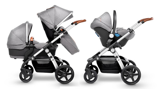 new double stroller 2017 Silver Cross Wave