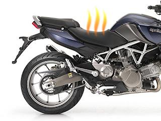 Calefacción para el asiento de moto