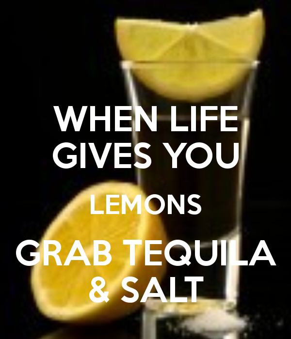 Bewitched By Words When Life Gives You Lemons
