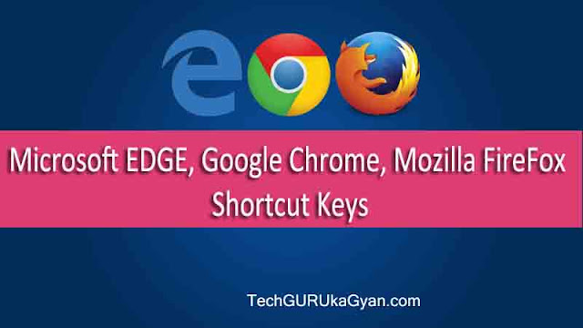Microsoft-EDGE-Google-Chrome-Shortcut-Keys
