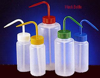 wash bottle, lab wash bottle