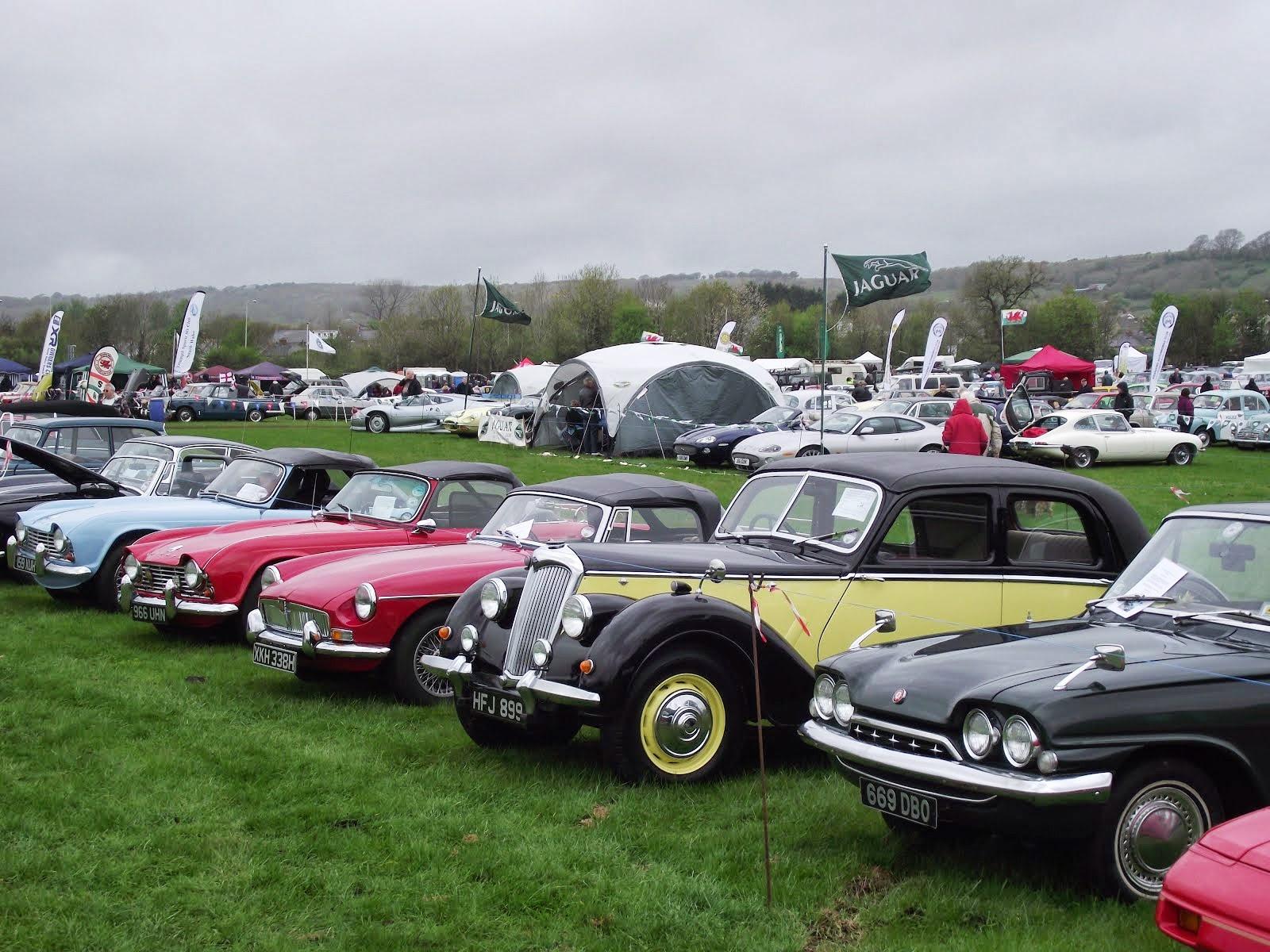 South Wales Classic Car Club : Regular Club Activities