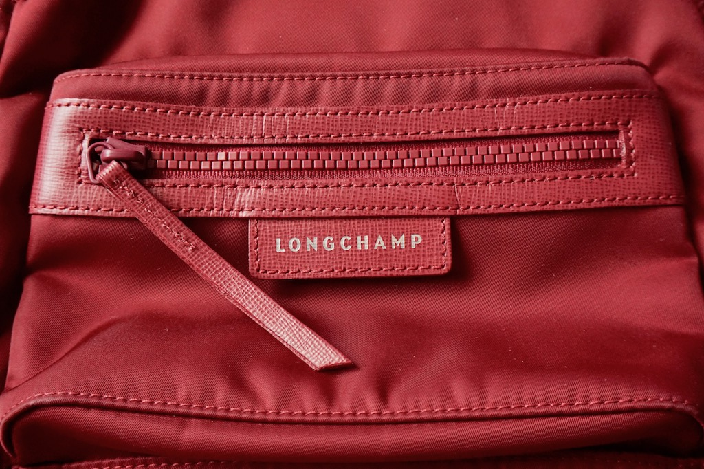 dbe4e3a4f74 Here s the second and last compartment located on the exterior of the bag   the zipper lining is thick, zipper pull is long and made from cowhide  leather, ...