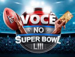Cadastrar Promoção Visa e Bradesco Você no Super Bowl LIII 2018