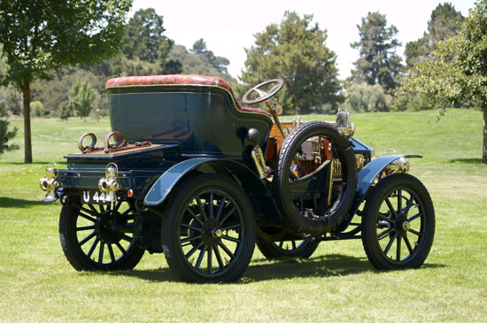 Rolls-Royce 10 hp Type A 1904 - back
