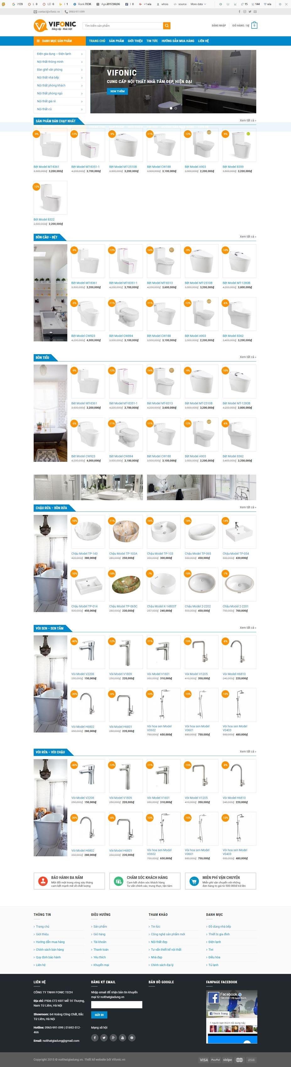MẪU BÁN HÀNG 054 - thiết bị nhà tắm